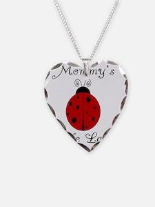 ladybug_mommyslittlelady Necklace Heart Charm