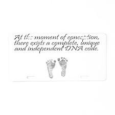 MomentOfConception2 Aluminum License Plate