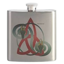 Shirt_DragonTri Flask