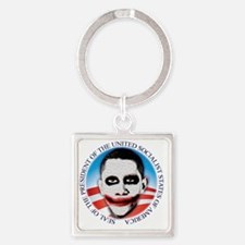 seal_ussa_lt Square Keychain