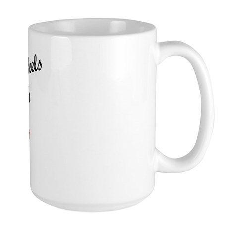 In Love with Tobias Large Mug