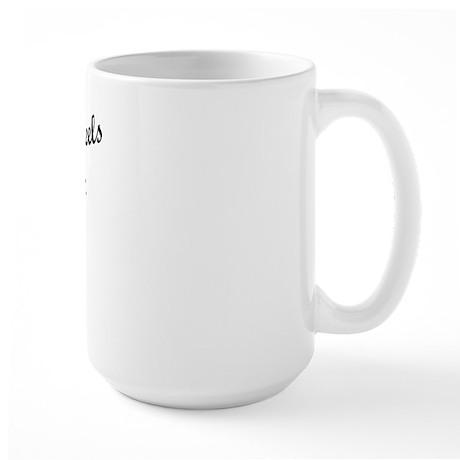In Love with Tobias Large Mug