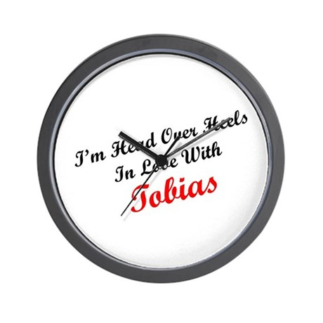 In Love with Tobias Wall Clock
