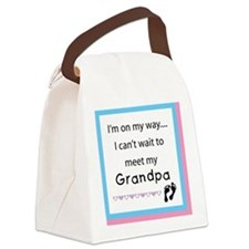 Im on my way GRANDPA Canvas Lunch Bag