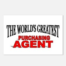 """The World's Greatest Purchasing Agent"" Postcards"
