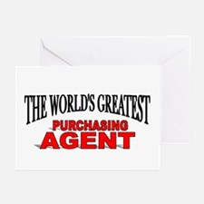 """""""The World's Greatest Purchasing Agent"""" Greeting C"""