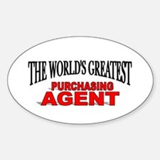 """""""The World's Greatest Purchasing Agent"""" Decal"""