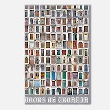 Croatia Door 9x12 Postcards (Package of 8)