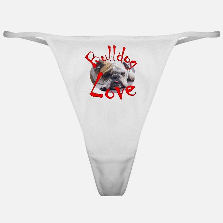 Bulldog Love Classic Thong