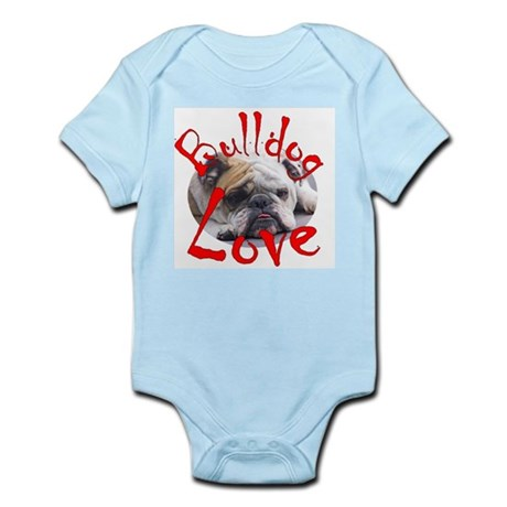 Bulldog Love Infant Bodysuit