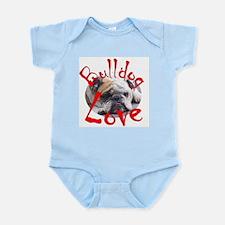 Bulldog Love Infant Bodysuit