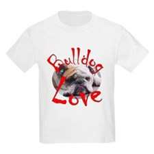 Bulldog Love Kids T-Shirt