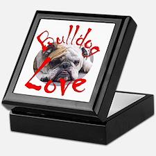 Bulldog Love Keepsake Box