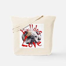 Bulldog Love Tote Bag
