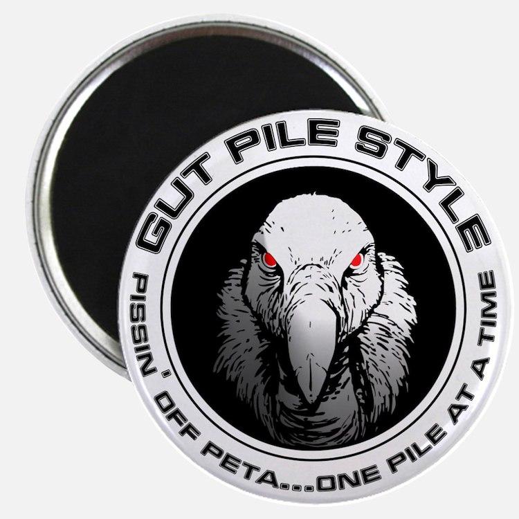 Gut Pile Style Buzzard Magnet