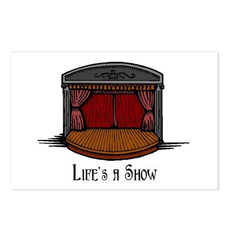 Life's a Show Postcards (Package of 8)
