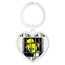 time_shirt_lt Heart Keychain