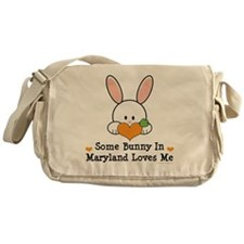 MarylandSomeBunnyLovesMe Messenger Bag
