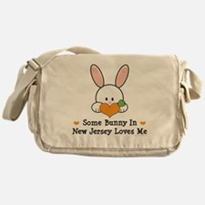 NewJerseySomeBunnyLovesMe Messenger Bag