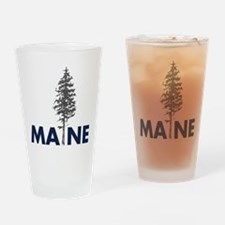 Cute Maine the way life should be Drinking Glass