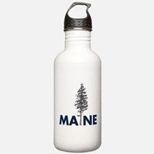 Cute Maine coon Water Bottle