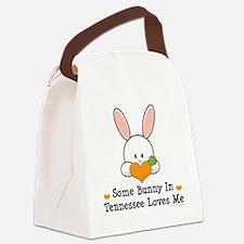 TennesseeSomeBunnyLovesMe Canvas Lunch Bag