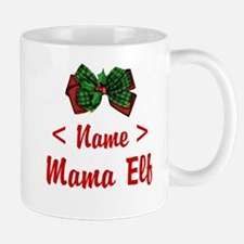 Personalized Mama Elf Mug