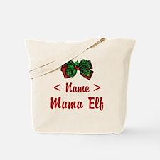 Personalized Mama Elf Tote Bag