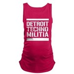 Detroit Techno Militia Maternity Tank Top