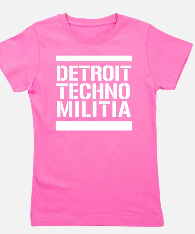 Cute Techno Girl's Tee