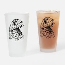 Cheetah_12x12 Drinking Glass