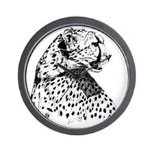 Cheetah_12x12 Wall Clock