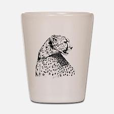Cheetah_12x12 Shot Glass