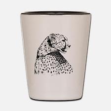 Cheetah_5x7 Shot Glass