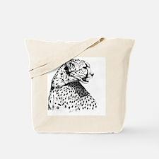 Cheetah_stein Tote Bag