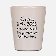 boss_emma Shot Glass