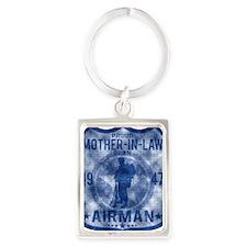 MOTHER LAW Portrait Keychain