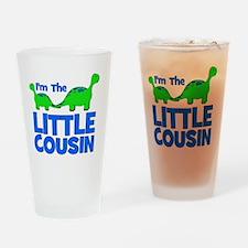 imtheLITTLEcousin_dino Drinking Glass