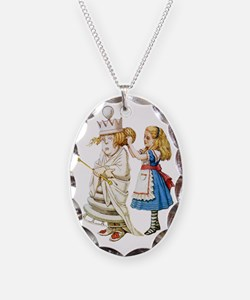Alice  WHITE QUEEN SOLO_RD Necklace