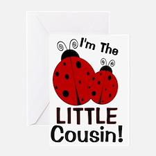 imtheLITTLEcousin_ladybug2 Greeting Card