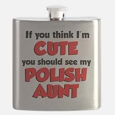 Cute Polish Aunt Flask