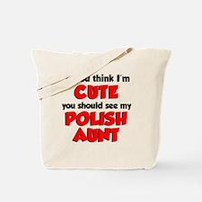 Cute Polish Aunt Tote Bag