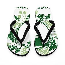 Keep It Green Flip Flops