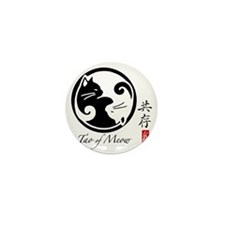 yin-yang-cats Mini Button