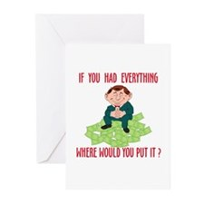 HAD EVERYTHING Greeting Cards (Pk of 10)