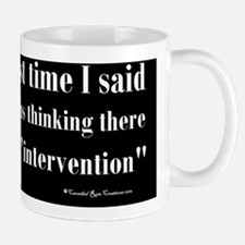 intervention_cal Mug