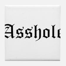 Asshole Tile Coaster