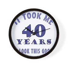 ItTookMe_40 Wall Clock
