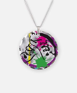 colorful grunge dance Necklace