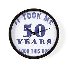 ItTookMe_50 Wall Clock